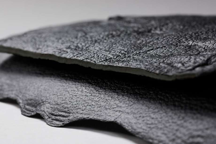 Bolt Threads, Emeryville�s biotech company that wants to change the way the world manufactures textiles, has launched its second lab-grown fabric with Mylo�, a leather-like material grown from a dense web of mycelium, the root structure of mushrooms. Photo: Bolt Threads