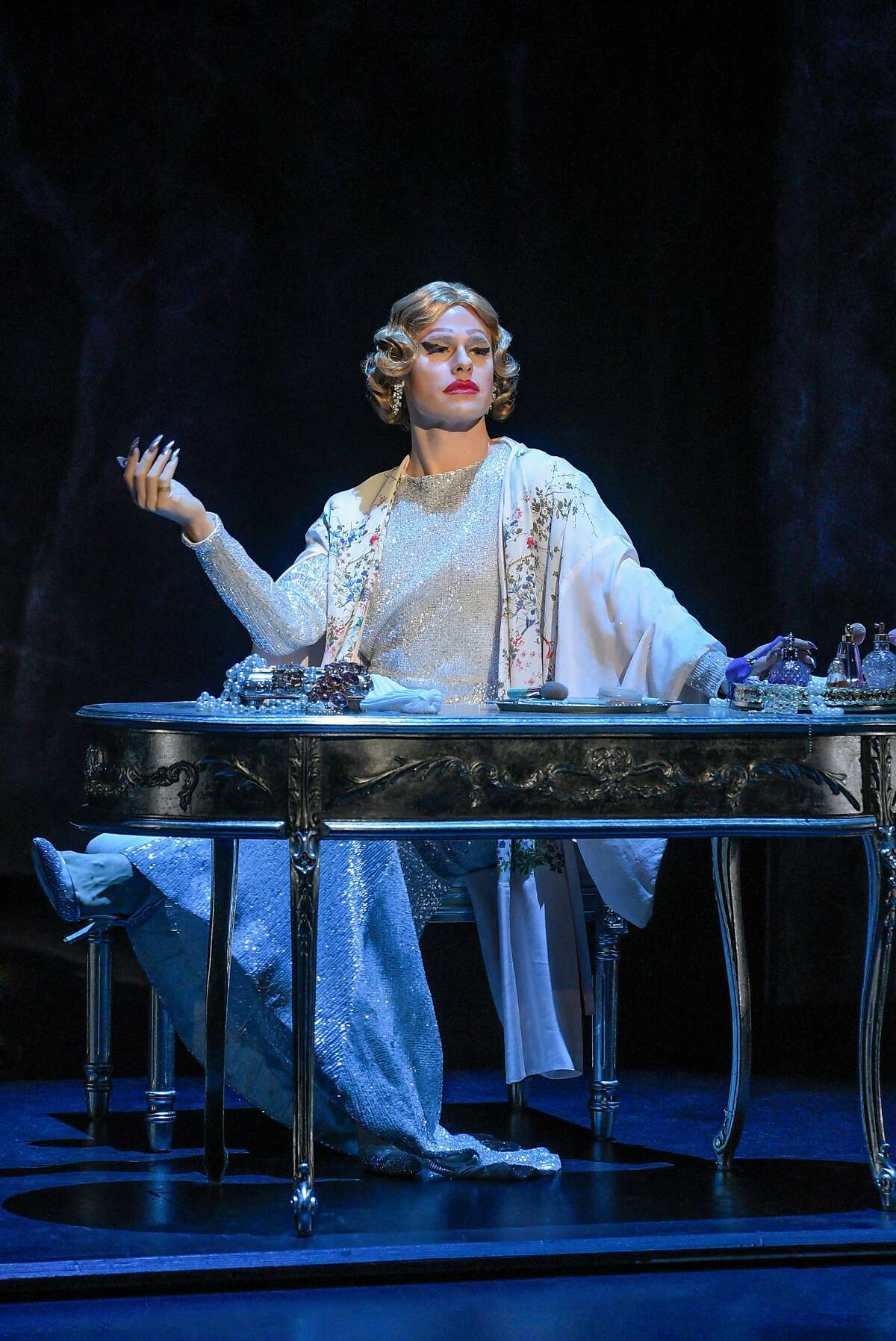 """Randy Harrison as Prior Walter in Berkeley Repertory Theatre�s production of """"Angels in America, Part One: Millennium Approaches."""""""