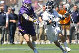The Yale men's lacrosse team jumped to No. 1 in the latest Inside Lacrosse national media poll after Sunday's win over Albany.