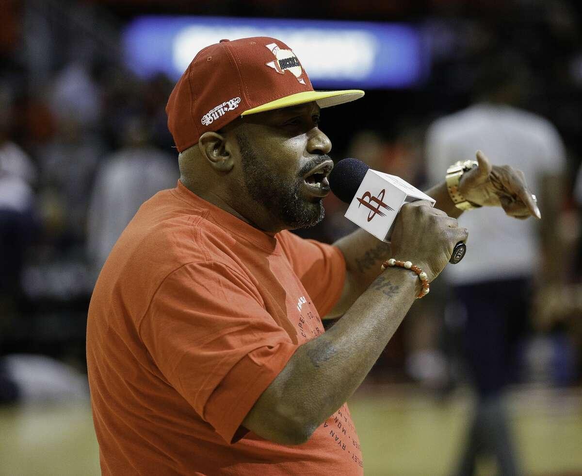Bun B The Port Arthur rapper is a regular at Rockets, Astros and Texans games.