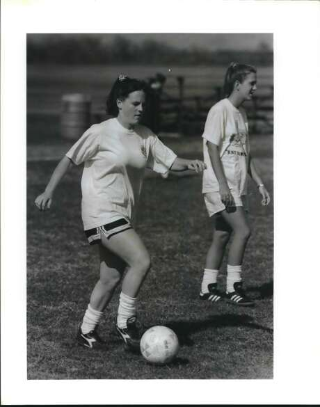 Senior Sarah Suess was a standout on the 1993 squad. (Express-News file photo)