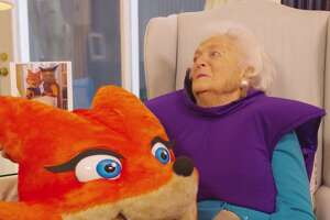 On Monday the Barbara Bush Houston Literacy Foundation shared a video made with former first lady Barbara Bush to tout the work done by the foundation.
