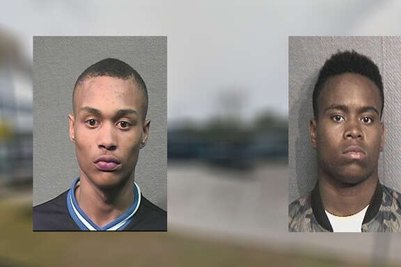 Kevon Latreal Mills, 17, left, and Ketrell Raynard Beasley, 17, allegedly shot and killed Cornelius Jackson, 20, on Feb. 25, Houston police said.