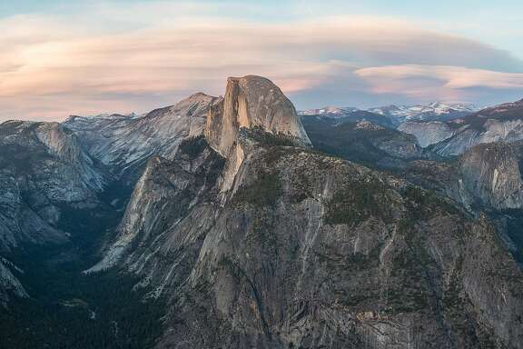 The view from Glacier Point