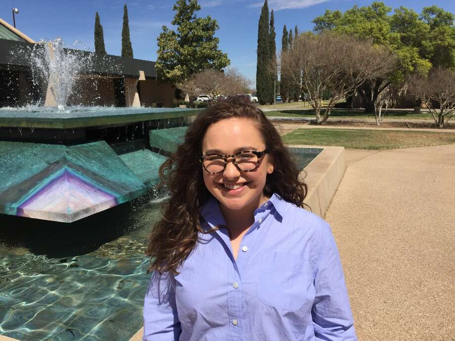Sawyer Cobb, 22, will graduate next month with a bachelor of science degree in nutrition and dietetics from Abilene Christian University and will begin taking graduate courses in August at Texas State University. Photo: Courtesy Photo