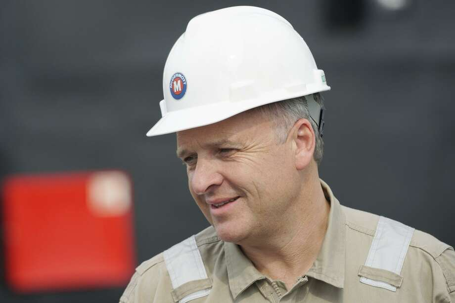 McDermott International CEO David Dickson.A month after its stock plummeted in value by 75 percent, the Houston oil field service company has landed $1.7 billion in new financing. Photo: Bloomberg / Bloomberg / © 2016 Bloomberg Finance LP