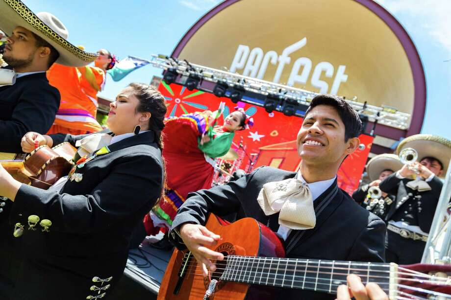 Mariachi Palomino, a mariachi group comprised of Palo Alto College students, perform at PACfest in 2017. Photo: Courtesy Photo / Courtesy Photo