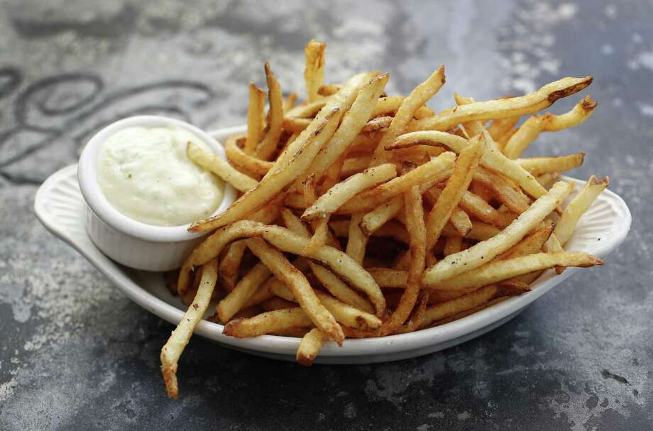 French fries with aioli at a'Bouzy in River Oaks Photo: Karen Warren, Staff / Houston Chronicle / © 2018 Houston Chronicle