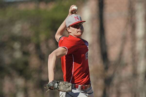 Alec Ritzenthaler of Niskayuna delivers a pitch during the Ballston Spa and Niskayuna baseball game on Monday, April 23, 2018, in Ballston Spa, N.Y.  (Paul Buckowski/Times Union)