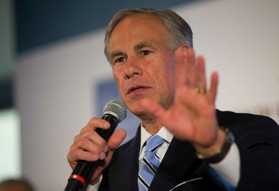 Texas Governor Greg Abbott speaks during a press conference announcing plans by the Texas Medical Center, along with the Baylor College of Medicine, Texas A&M University, the University of Texas and M.D. Anderson Cancer Center, to build a research and innovation campus on land just south of S. Braeswood Blvd. and north of Old Spanish Trail, Monday, April 23, 2018, in Houston. Photo: Mark Mulligan, Houston Chronicle / © 2018 Houston Chronicle