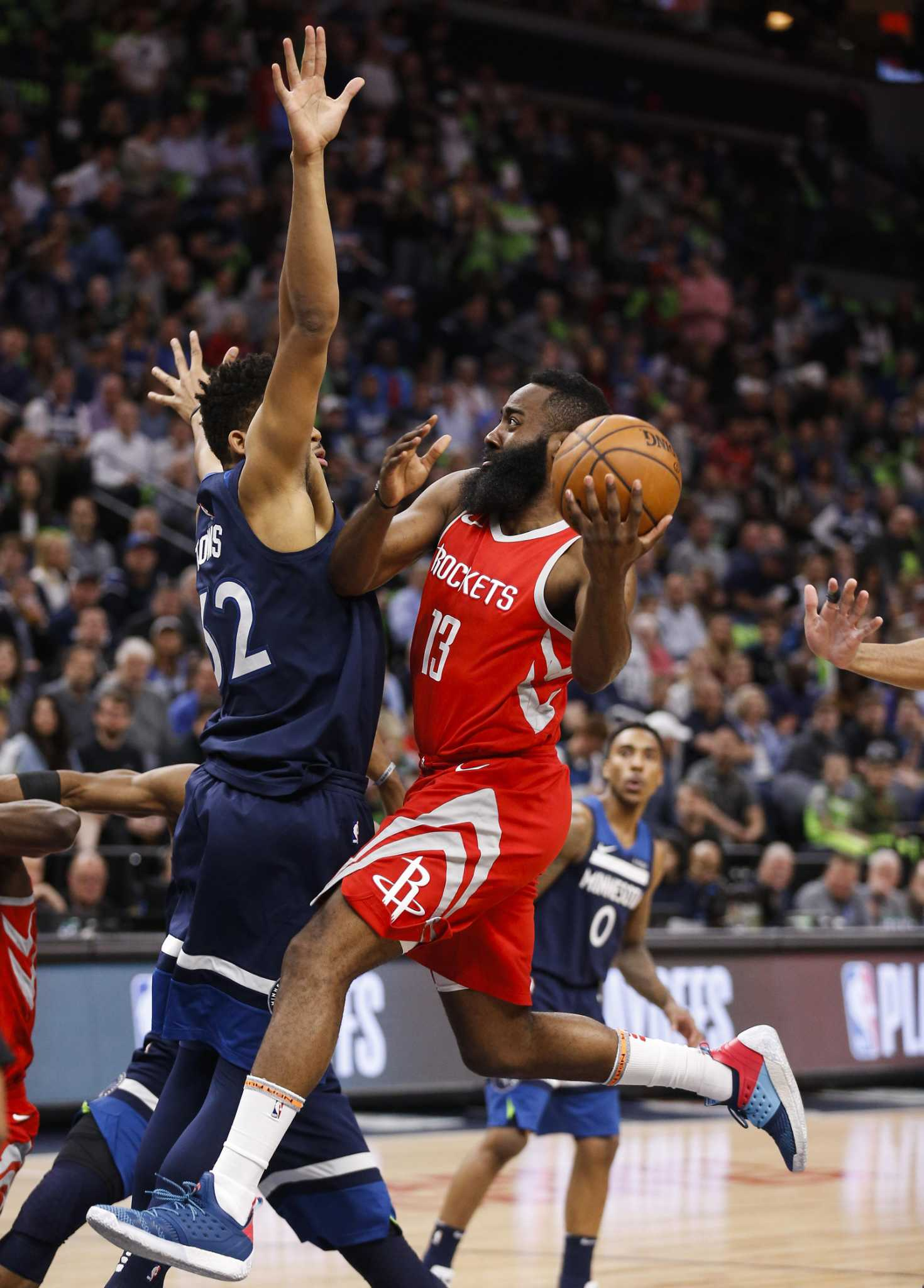 a16c66f655dd Rockets roll over Timberwolves with 50-point third quarter ...