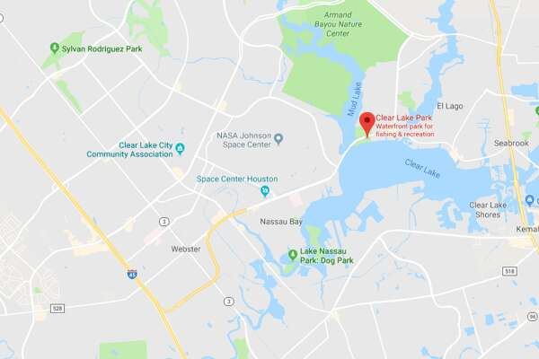 A woman has been found dead at Clear Lake Park in Seabrook, on Tuesday, April 24, 2018.