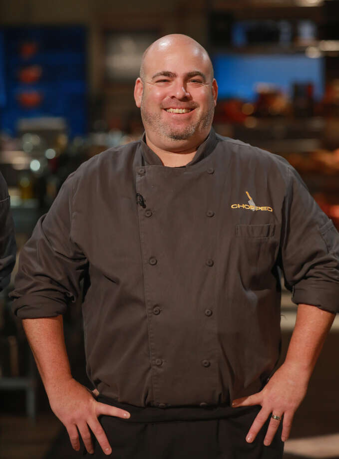 "Chef Matt Storch of Match, Nom Eez and Match Burger Lobster competed in Food Network's ""Chopped"" on April 24, 2018. Photo: Food Network"