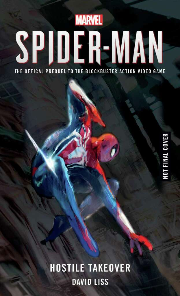 Image result for spiderman ps4 book
