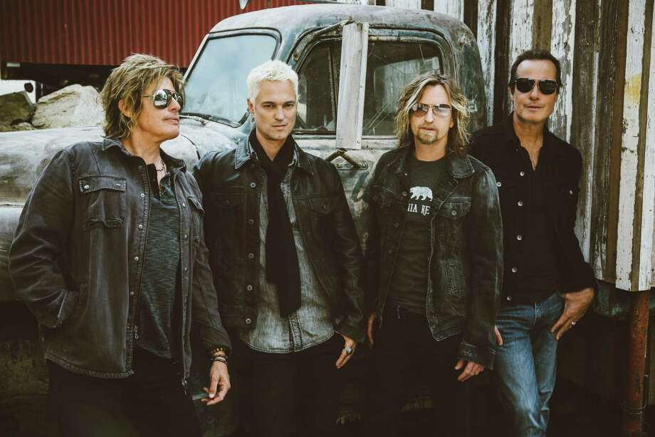 Jeff Gutt, second from left, and Stone Temple Pilots, who will play the Dome at Oakdale. Photo: LiveNation / Contributed Photo