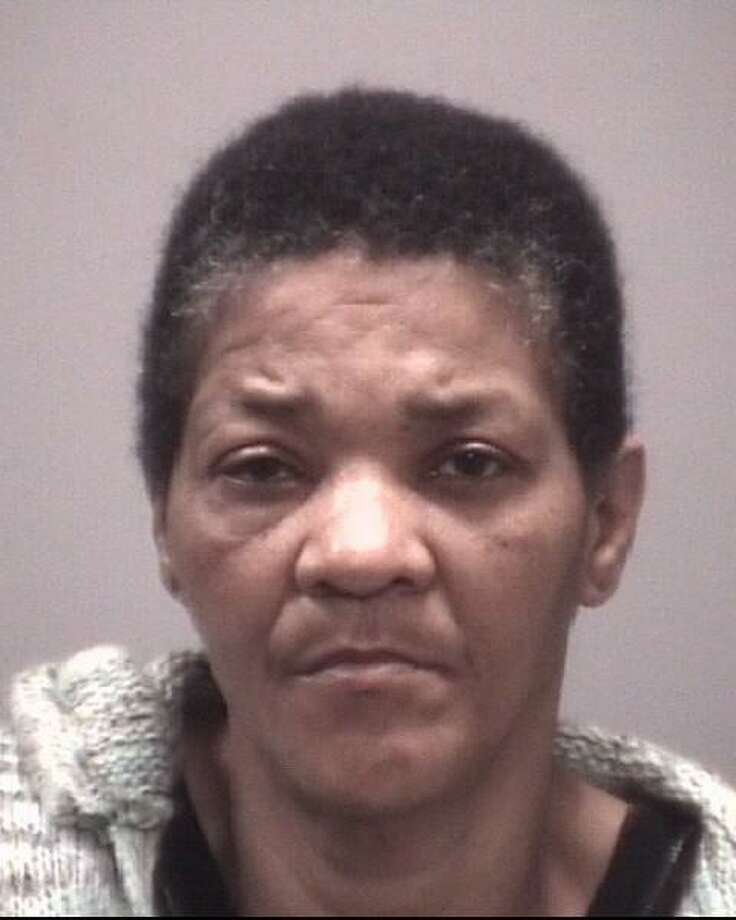 Edielee Sims, 55, of Chapel Street, New Haven, was arrested Sunday for allegedly of slashing a man with a razor blade because he allegedly threw hot coffee at her. Photo: Photo Courtesy Of New Haven Police
