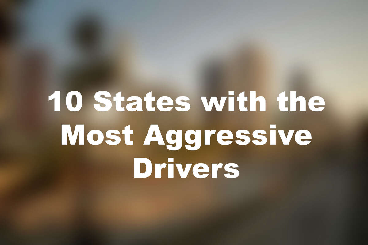 Click through the slideshow to see GasBuddy's 10 states with the most aggressive drivers.