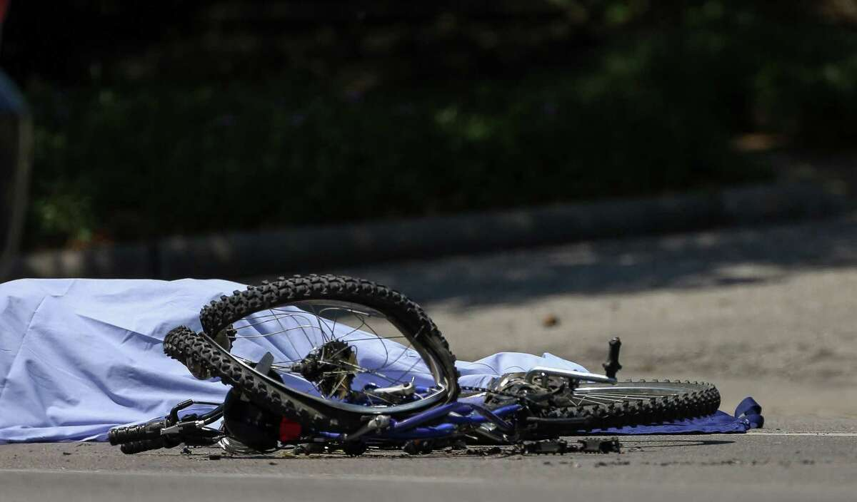 A bicyclist was fatally struck by a dump truck near Rice University. This was the third fatal crash in a month in Houston.