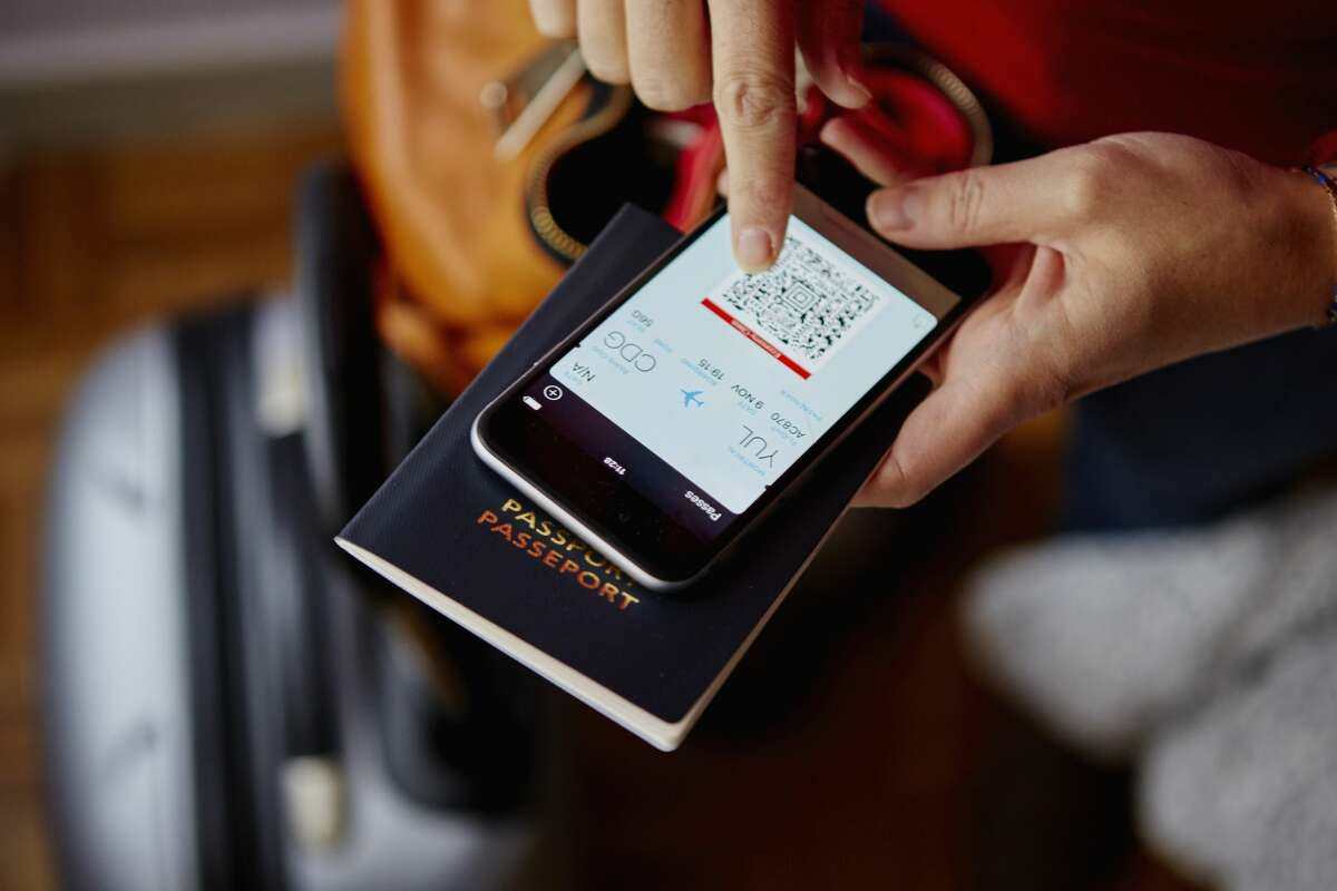Download your airline's app for quick, paperless boarding.