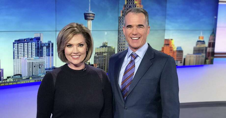 It's now official: Deborah Knapp is chief anchorwoman at 10 p.m. next to Jeff Brady on KENS-TV. Photo: KENS