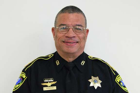 A Harris County Constable Precinct 7 chief died from a sudden illness while working Monday, the department said.