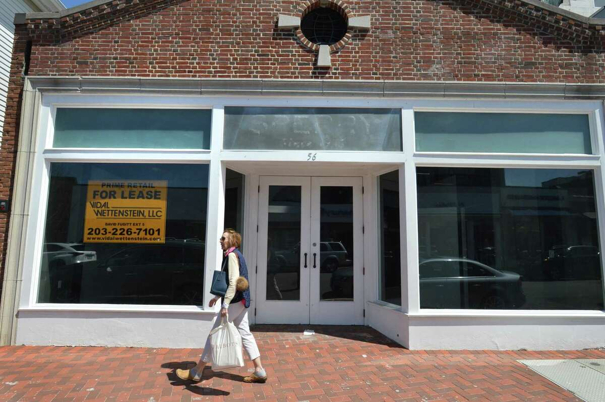 The former Sperry store on Main St. on Tuesday April 24, 2018 in Westport Conn.