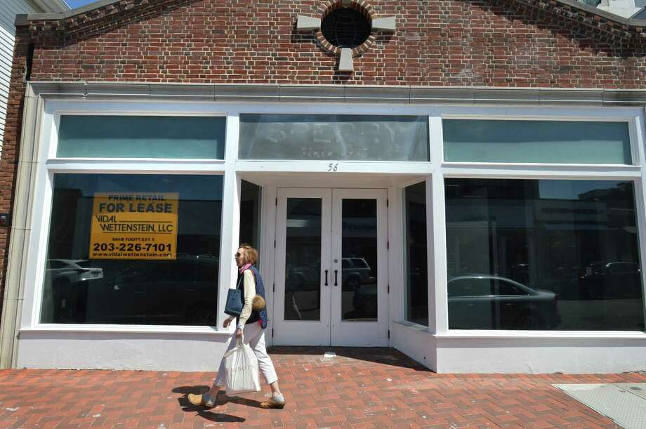 The former Sperry store on Main St. on Tuesday April 24, 2018 in Westport Conn. Photo: Alex Von Kleydorff / Hearst Connecticut Media / Norwalk Hour
