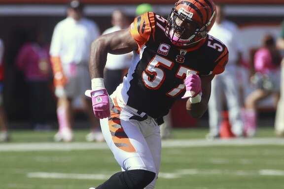 Before he became a TV personality, Dhani Jones played 10 seasons for the Giants, Eagles and Bengals after being taken with the 177th pick in the 2000 draft.