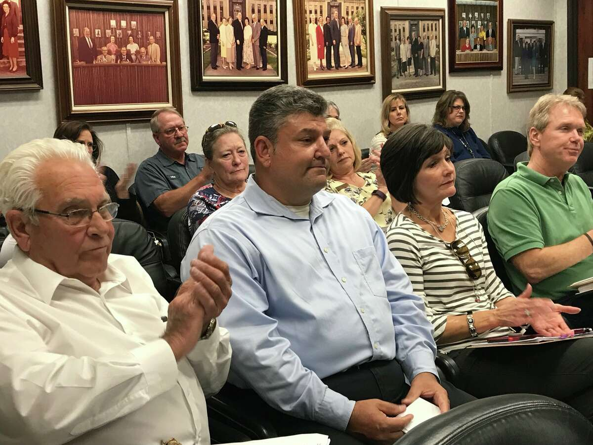 Orange Co. commissioners unanimously voted April 24, 2018 to appoint Dean Crooks to replace former judge Brint Carlton. Photo: Kim Brent/The Enterprise