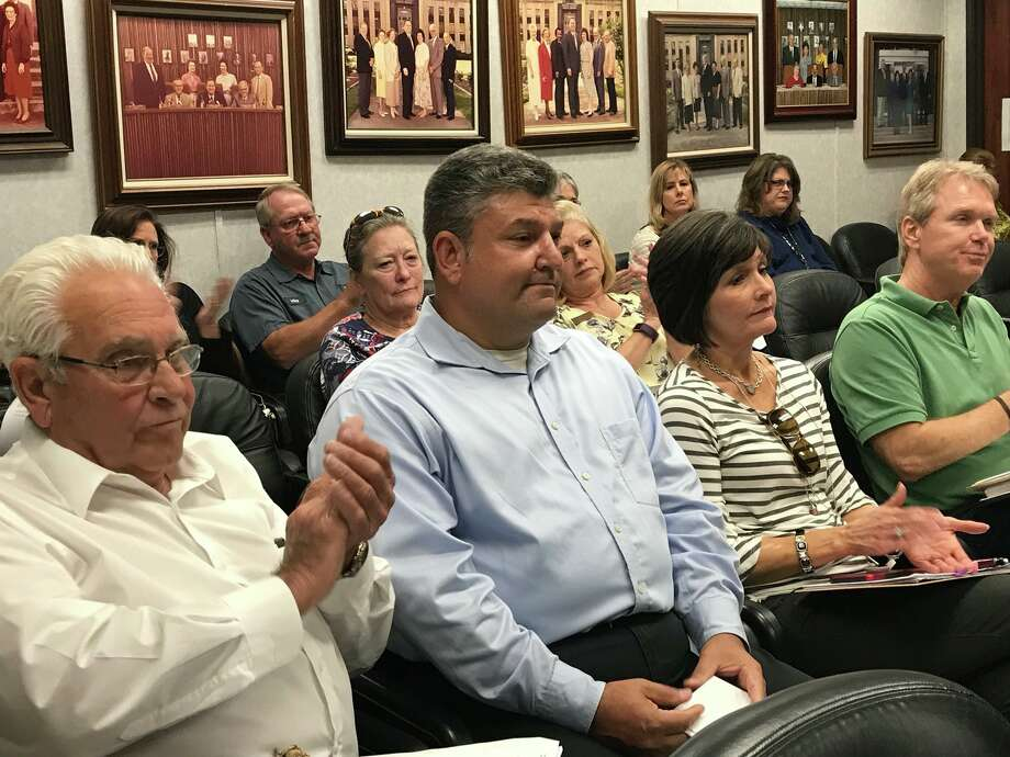 Orange Co. commissioners appoint Dean Crooks to replace former judge Brint Carlton.