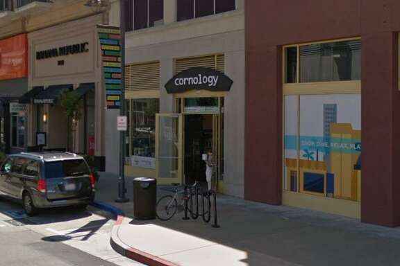 The exterior of Cornology in Emeryville.