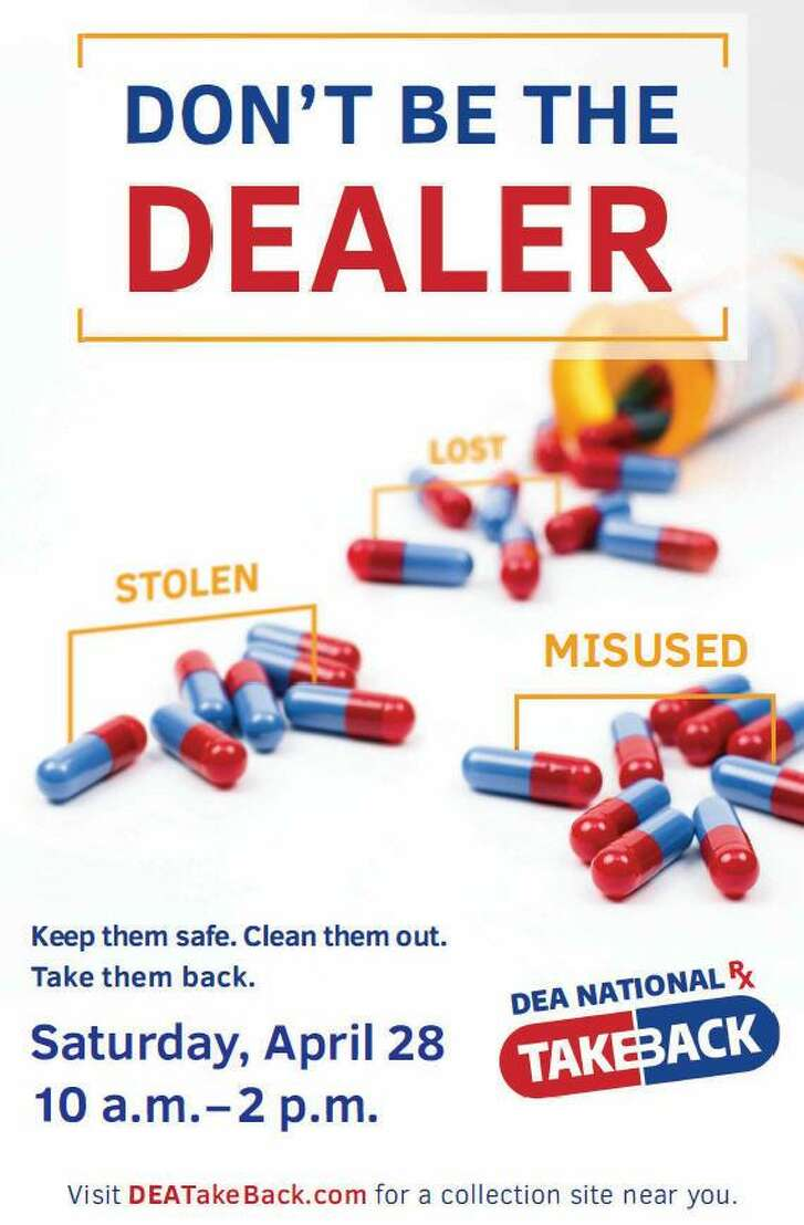 The Katy Independent School District Police Department is one of about 30 agencies in the Houston area partnering with the Drug Enforcement Administration on Take Back Drug Day April 28.