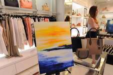 Art to the Avenue, the Greenwich Arts Council's spring celebration on Greenwich Avenue returns on Thursday, May 3. More than 100 artists will be featured in Greenwich Avenue and central business district stores.