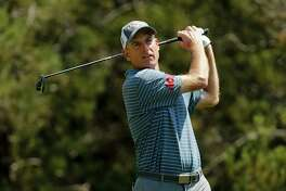 Jim Furyk, seen here at the Valero Texas Open on April 19, is the course record-holder at TPC River Highlands and is among three golfers returning to play in the Travelers Championship in June.