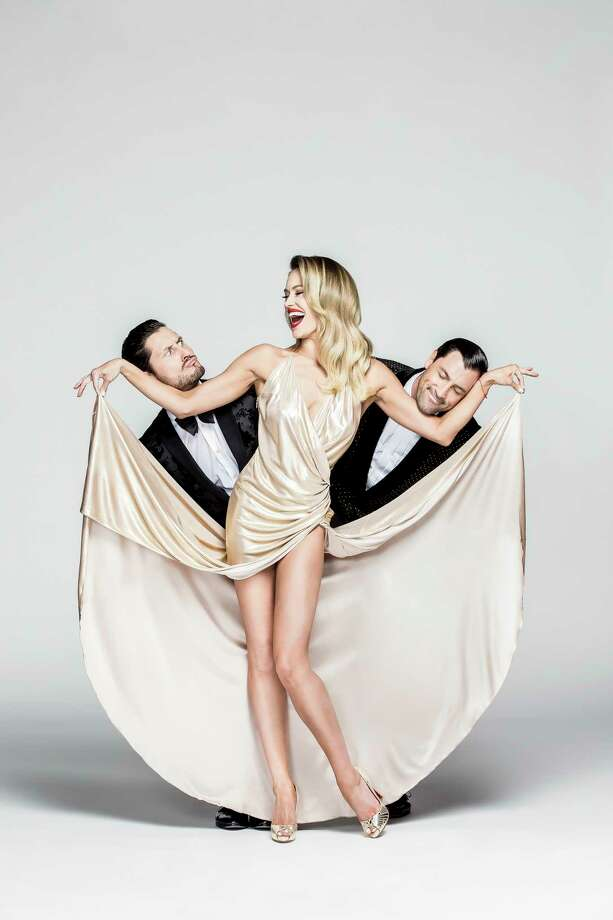 """Maks and Val are Maksim and Valentin Chmerkovskiy. Peta is Maks' wife, Peta Maurgatroyd. All three are among the cast of professional dancers on """"Dancing With the Stars."""" They have collected five Mirrorballs among them: Maks won with Meryl Davis; Val was partners with champs Laurie Hernandez and Rumer Willis; and Peta's first-place partners were Donald Driver and Nyle DiMarco. Their Confidential dance tour draws on their personal stories for what's billed as a celebration of dancing, love and life. 8 p.m. Friday. Majestic Theatre, 224 E. Houston St. $40-$95. majesticempire.com -- Jim Kiest Photo: Jerry Metellus Photography Inc. / Contributed Photo / Kevin Dyer 2017"""