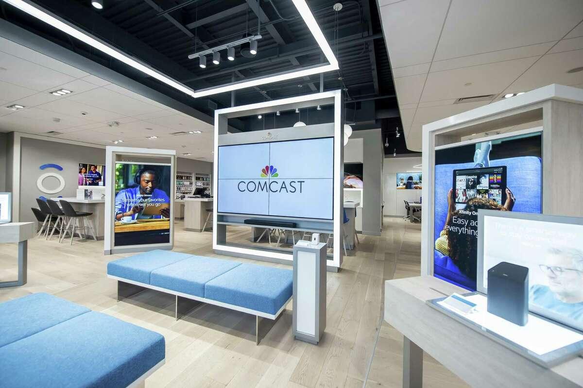 Comcast's new Henrico, Va. Xfinity store shown. (Joy Asico/Comcast via AP Images)