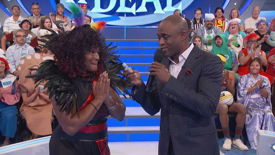 Kendra Payne of New Haven appears on CBS's 'Let's Make A Deal.' The episode is scheduled to air Monday, April 30, 2018. Photo: FremantleMedia Ltd