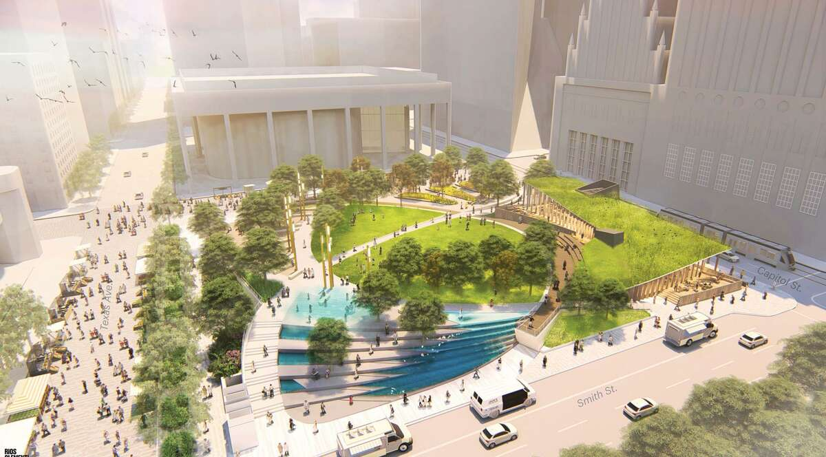 Houston First Corporation announced the redevelopment plans for Jones Plaza, located in the heart of downtown?'s Theater District. The project will begin in May 2018 and is slated for completion in November 2020.