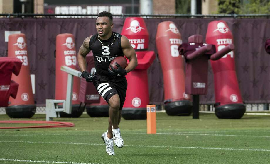 Christian Kirk will try to continue a trend of Texas A&M first-round selections that dates to 2011, but the wide receiver may slip into the second round. Photo: Rodolfo Gonzalez / For The Washington Post / For The Washington Post