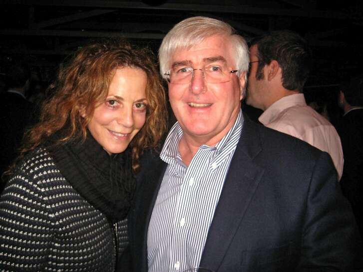 Gayle Conway and her husband, angel investor Ron Conway at BBB. May 2010.