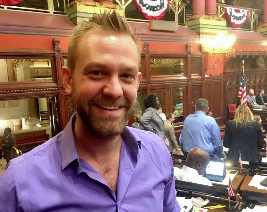 Josh Elliott, D-Hamden, organizer of the Progressive Democrats caucus in the state House of Representatives Photo: Dan Haar /Hearst Connecticut Media