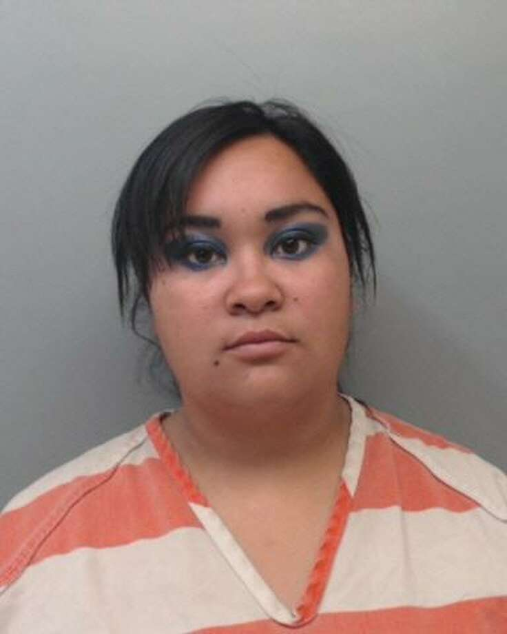 Dora Treviño, 28, was charged with aggravated robbery. Photo: Webb County Sheriff's Office