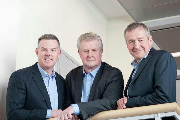 RallyBio co-founders Jeffrey Fryer, Martin Mackay, and Stephen Uden (L-R). (Photo via Business Wire)