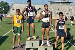 Klein Collins' senior Xavier Wolf placed first (1:55.99) in the 800-meter run, Marlon Hardeman fourth (1:57.73) and Klein Forest senior Ethan Phillips third (1:56.85) at the UIL 6A Area 15/16 Track and Field championships, April 18-19, at Klein Memorial Stadium.