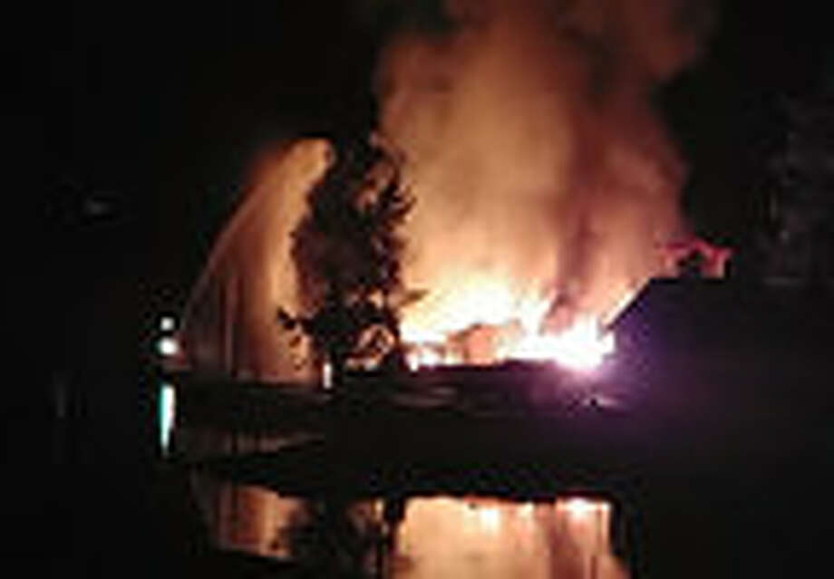 huge waterfront home destroyed by fire near gig harbor