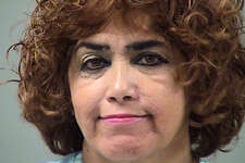 Margie Hernandez Miranda, 61, was arrested on suspicion of driving while intoxicated.