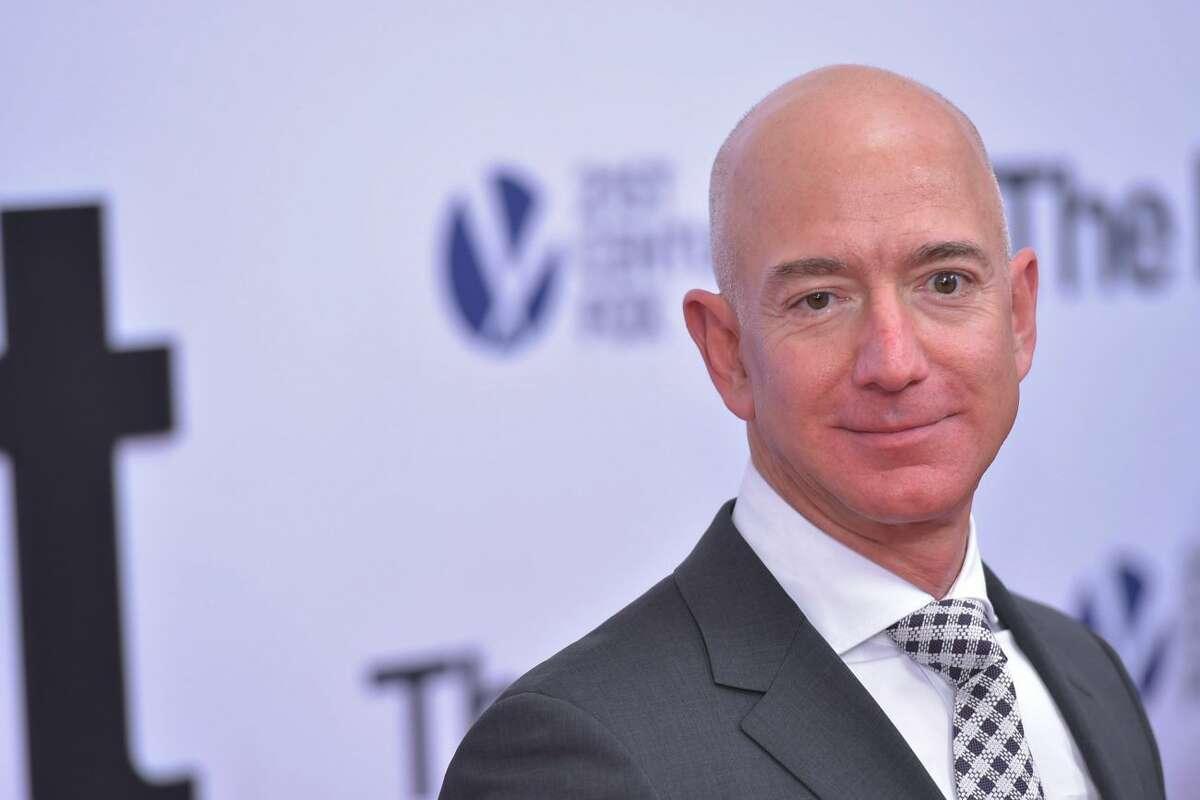 Jeff BezosWorth: $116.57 billionState: New MexicoIndustry: Retail, news (Amazon, Washington Post)