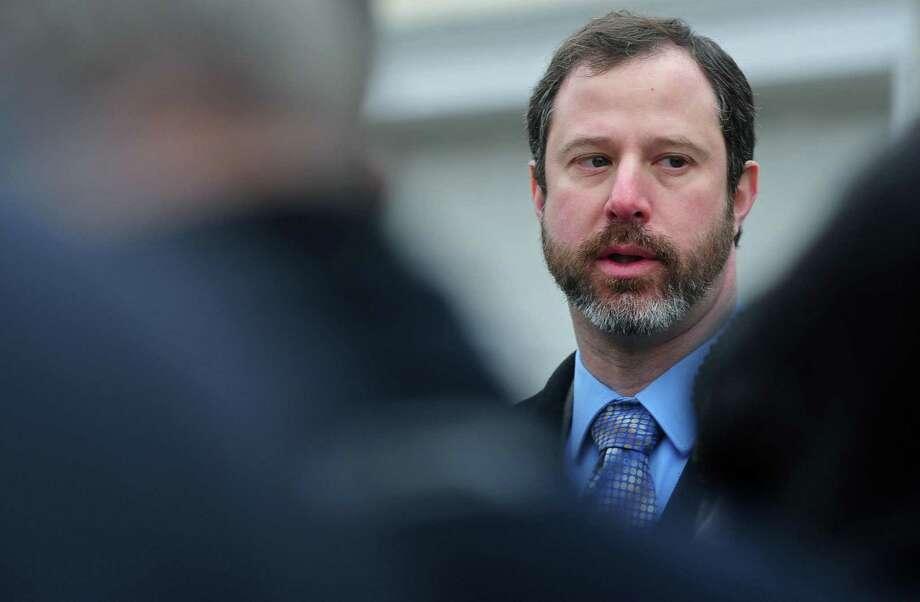 Adam Bovilsky. Photo: Erik Trautmann / Hearst Connecticut Media / Norwalk Hour
