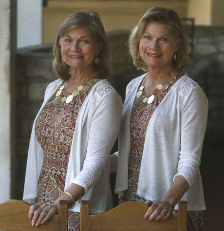 Amalea Hart Wallis (left) and Amabel Hart Poynter (right) are identical twins and were both Miss Fiesta 1968. They said they were the first identical twins to reign over the Fiesta Flambeau parade and on New Year's Day in 1969 they appeared in the Tournament of Roses Parade in Pasadena, California. Photo: John Davenport, STAFF / San Antonio Express-News / ©John Davenport/San Antonio Express-News