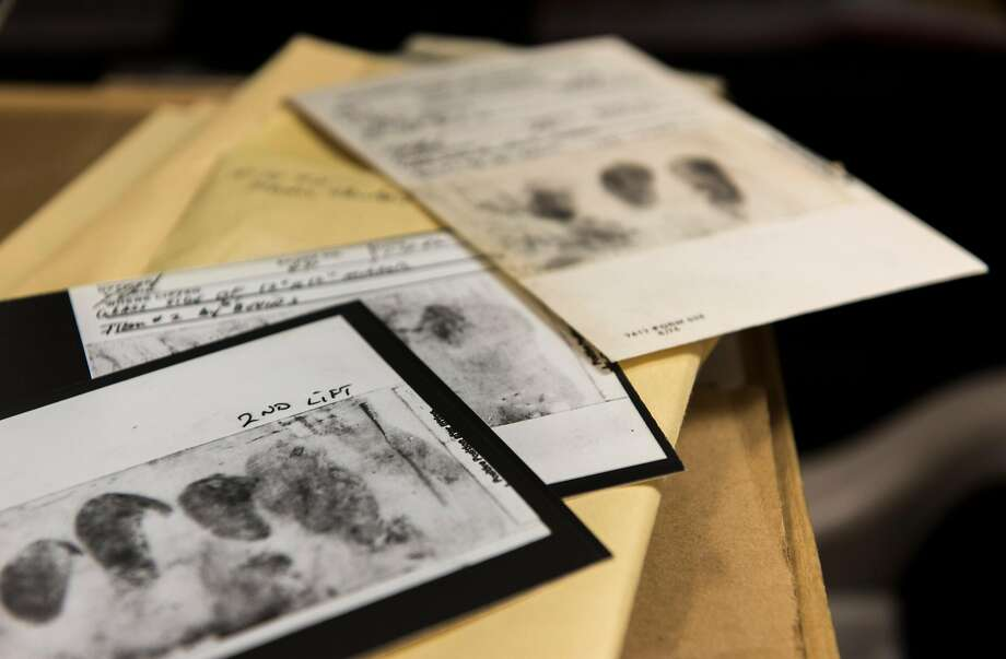 In an undated photo released by the FBI, documents related to the decades-long investigation into a serial killer and rapist, known variously as the Golden State Killer, the East Area Rapist or the Original Night Stalker, who terrorized California in the 1970s and 1980s. Joseph James DeAngelo was reportedly arrested and charged with two counts of murder in relation to the case on April 25, 2018.  Photo: FEDERAL BUREAU OF INVESTIGATION;Federal Bureau Of Investigation / New York Times